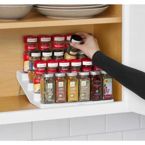YouCopia SpiceSteps 4-Tier Cabinet Spice Rack Organizer by YouCopia