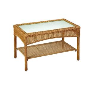 Martha Stewart Living Charlottetown Natural All Weather Wicker Patio Coffee Table 65 909556 5