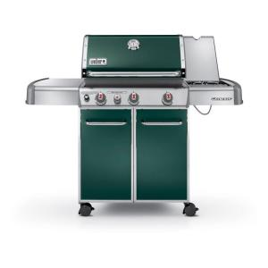 Weber Genesis E-330 3-Burner Propane Gas Grill in Green