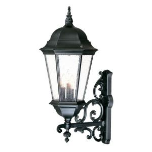 Acclaim Lighting Richmond Collection 3-Light Matte Black Outdoor Wall-Mount... by Acclaim Lighting