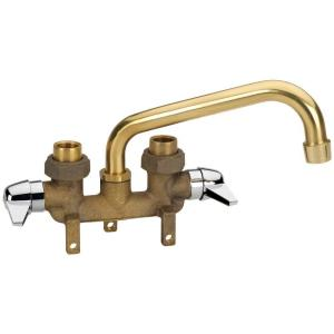 Laundry Sink Plumbing : Homewerks Worldwide 2-Handle Laundry Tray Faucet in Rough Brass-3310 ...