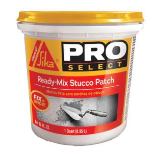 Sika 1 Qt Ready Mix Stucco Patch 503333 The Home Depot