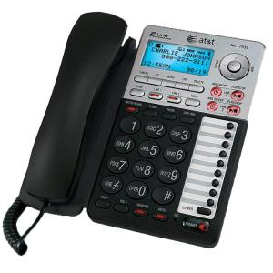 AT&T 2-Line Speakerphone with Caller ID and Digital Answering System by AT&T