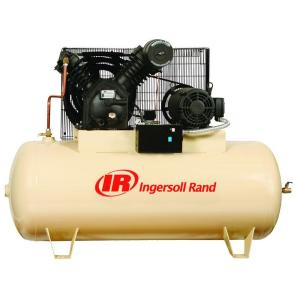 Ingersoll Rand Type 30 Reciprocating 120 Gal. 10 HP Electric 230-Volt 3 Phase Air... by