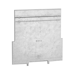 RACO Steel Low Voltage Box Partition for 2-1/8 inch Deep Box and 2-Device Raised...