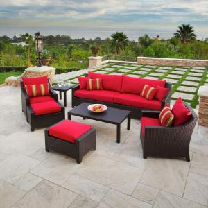RST Outdoor Cantina 7-Piece Patio Seating Set with Cushions-DISCONTINUED