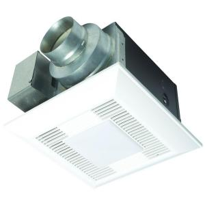Panasonic WhisperLite 80 CFM Ceiling Exhaust Bath Fan with Light ENERGY STAR*