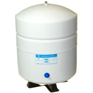 Ispring 5 5 gal metal reverse osmosis water storage tank t55m the home depot - Home depot water container ...