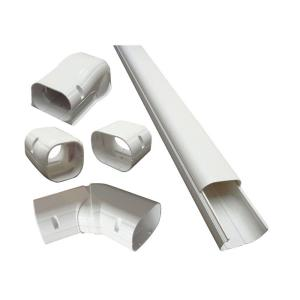 DuctlessAire 4 inch x 14 ft. Cover Kit for Air Conditioner and Heat Pump Line...
