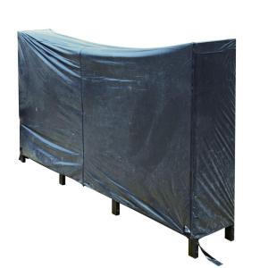 8 ft. Heavy Duty Polyester and PVC Log Rack Cover by