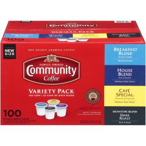 Community Coffee beverages