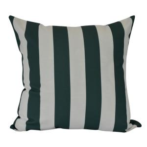 16 inch Rugby Stripe, Stripe Print Decorative Pillow by