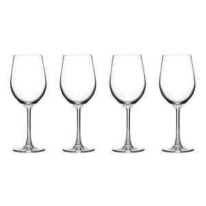 Cuisinart Advantage Glassware Essentials Collection Wine Glasses in White (Set of 4) by
