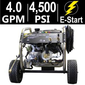 LIFAN Elite Series 4,500 PSI 4.0 GPM AR Tri-Plex Pump Electric Start Gas Pressure Washer with Stainless Steel... by LIFAN