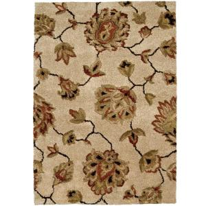 Orian Rugs Como Bisque 6 Ft 7 In X 9 Ft 8 In Area Rug