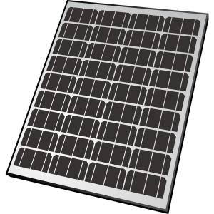 Nature Power 80-Watt Monocrystalline Solar Panel with Aluminum Frame