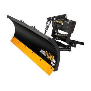 Home Plow by Meyer 80 inch x 22 inch Residential Snow Plow with Patented Auto Angle... by Snowplows
