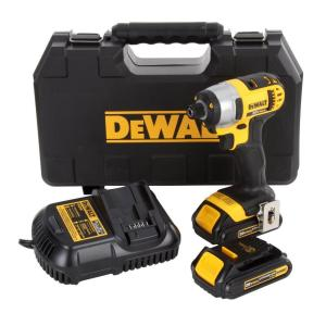 Dewalt DCF885C2 20-Volt Max Lithium-Ion 1/4 in. Cordless Impact Driver w/2 batteries - $94 (or lower) AC YMMV @ homedepot (store pickup only)