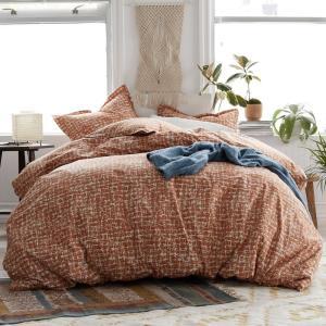 BRORDEN Pure Cotton Printed Quilt Cover Set 15 STYLES 3 SIZES D Q K