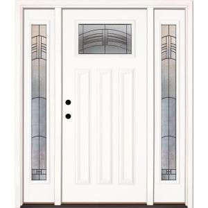 Single door with Sidelites