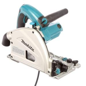 Makita 12-Amp 6-1/2 inch Plunge Circular Saw with 55 inch Guide Rail and Case by