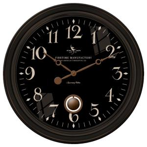 FirsTime 24 inch Round Varenna Wall Clock by FirsTime