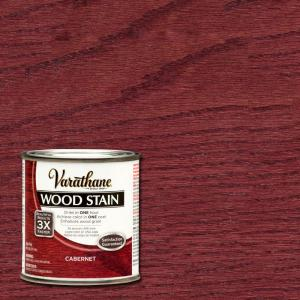 Varathane 1 2 Pt Cabernet Wood Stain 266193 The Home Depot