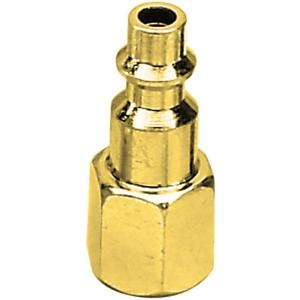 Campbell Hausfeld 1/4 in. NPT IM Brass Female Plug