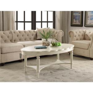 ACME Furniture Fordon Coffee Table in Antique White by