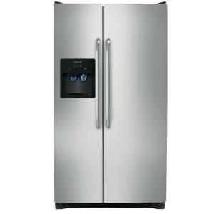Frigidaire 25.54 cu. ft. Side by Side Refrigerator in Stainless Steel by