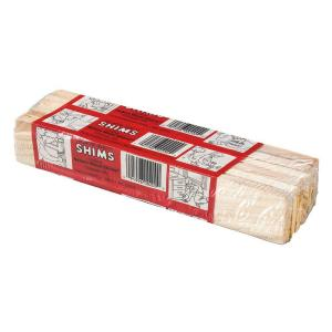 8 in. Homeowner Pine Shims (12-Per Bundle)