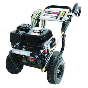 Simpson PowerShot 3,200 PSI 2.8 GPM Gas Pressure Washer Powered by Honda
