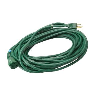 Southwire 80 ft. 16/3 Outdoor SJTW Extension Cord, Green by Southwire