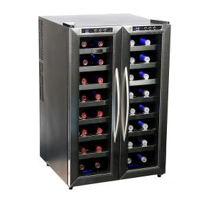 Click here to buy Whynter 32-Bottle Dual Zone Wine Cooler by Whynter.