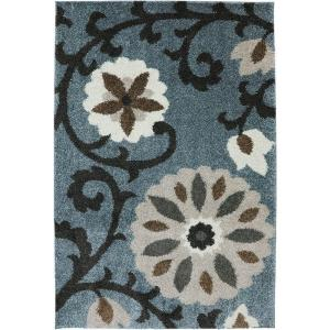 American Rug Craftsmen Hazelhurst Abyss Blue 3 ft. 4 inch x 5 ft. 6 inch Accent Rug by