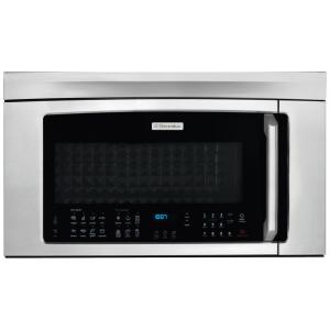 Click here to buy Electrolux 30 inch W 1.8 cu. ft. Over the Range Convection Microwave in Stainless Steel with Sensor Cooking.