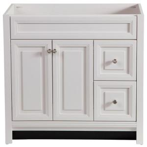 Home decorators collection brinkhill 36 in vanity cabinet only in cream bwsd3621 cr the home Home decorators collection 36 vanity