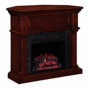 Corner Fireplaces Chimney Free Corner Electric Fireplace Entertainment Wall