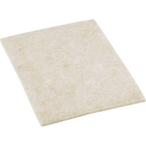 4-1/2 in. x 6 in. Heavy Duty Self-Adhesive Felt Blankets (2 per Pack)