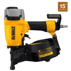 Dewalt Pneumatic 15-Degree Coil Siding Nailer by
