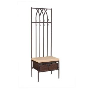 Home Decorators Collection Tristan Hall Tree with Storage Bench ...