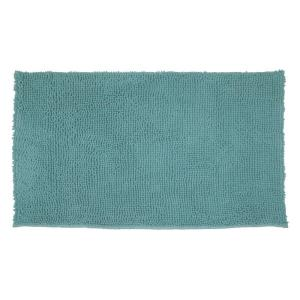 Resort Collection Plush Shag Chenille Marine Blue 17 inch x 24 inch Bath Rug by Resort Collection