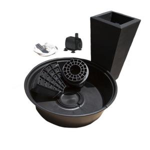 Little Giant PFK Caviar Black Papyrus Fountain Kit by