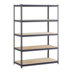 Edsal 48 in. W x 72 in. H x 18 in. D Steel Commercial Shelving Unit