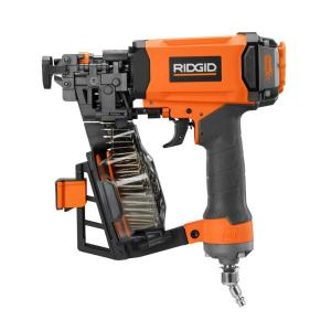 Ridgid 1 3 4 In Roofing Coil Nailer R175rne The Home Depot