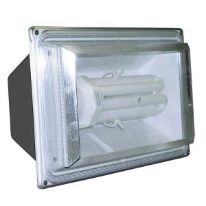 Lights of America 65 Watt Fluorex Floodlight, Bronze