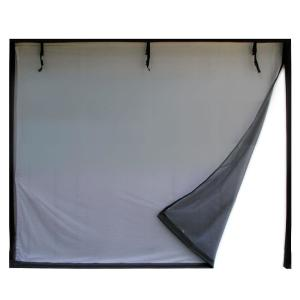 Fresh Air Screens 9 ft. x 8 ft. 3-Zipper Garage Door Screen