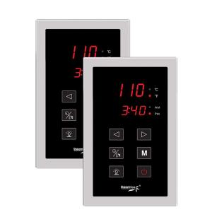 SteamSpa Steam Bath Generator Dual Touch Screen Control Panel by