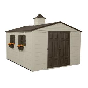 Suncast 12 ft. 8 in. x 10 ft. 5 in. Resin Storage Shed