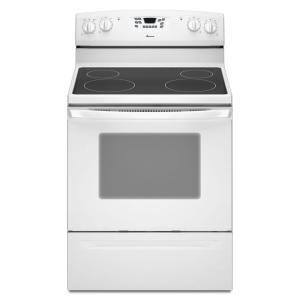 Amana 4.8 cu. ft. Electric Range with Self-Cleaning Oven in White
